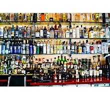 Well Stocked Bar Photographic Print