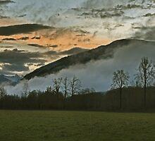 Winter Sunrise by Mike  Kinney