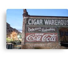 Cigars and Coca~Cola Canvas Print