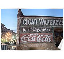 Cigars and Coca~Cola Poster