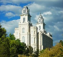 Manti Temple by Lyndsie Hall