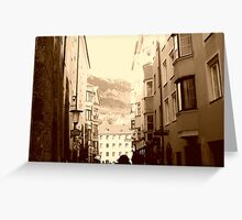 i walk these streets alone Greeting Card