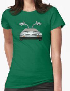 DMC DeLorean Womens Fitted T-Shirt