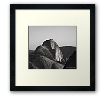 Half Dome View From Olmsted Point Framed Print