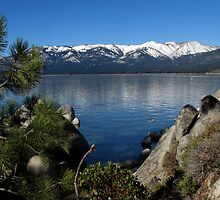 Sand Harbor on Lake Tahoe by LynnL