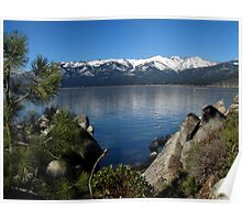Sand Harbor on Lake Tahoe Poster