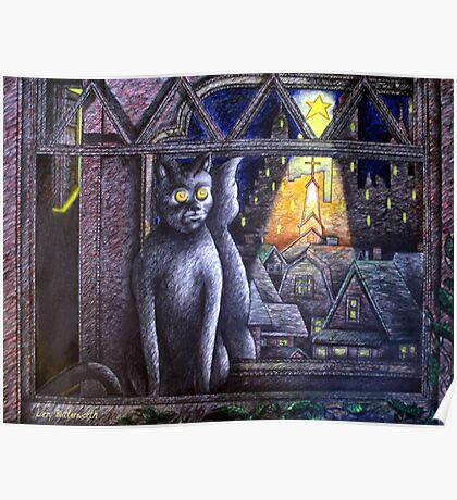 STARLIGHT STARBRIGHT CAT  Poster