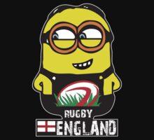 INTERNATIONAL RUGBY WORLD CUP 2015 MINIONS GRU, ENGLAND ENGLISH by 3kuse