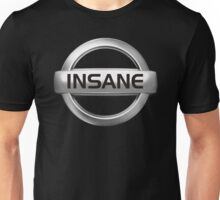Insane Nissan Badge - JDM Decal Unisex T-Shirt