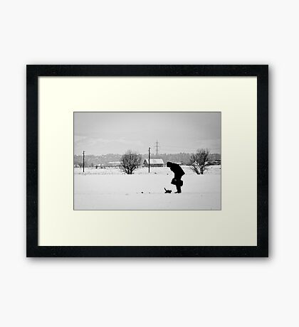 OnePhotoPerDay Series: 352 by L. Framed Print