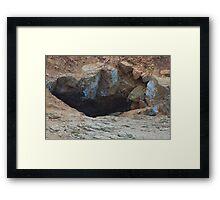 Blow Hole II Framed Print