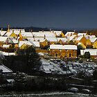 Snowy Hamlet by SWEEPER