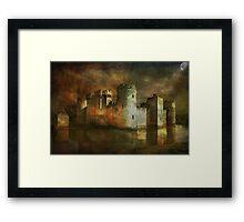 Bodiam Castle.... Framed Print