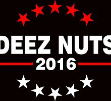 Deez Nuts for President 2016  by ozdilh