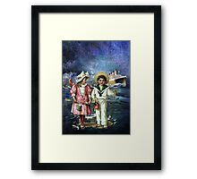 DO YOU REALLY HAVE TO LEAVE SO SOON Framed Print