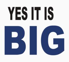 Yes it is big by chany