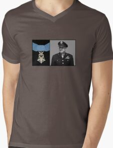 Jimmy Doolittle and The Medal of Honor Mens V-Neck T-Shirt