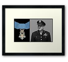 Jimmy Doolittle and The Medal of Honor Framed Print