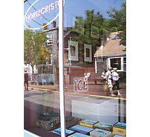 Liquor Store Window Photographic Print
