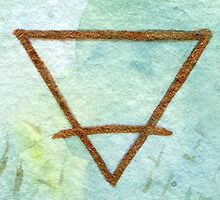 Earth Element - Symbol by coracrow