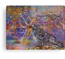 Winter Web Canvas Print