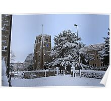 All Saints Church, Maidstone Poster