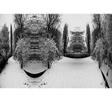 Bulging Snow Photographic Print