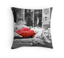 Santa is Dead Throw Pillow