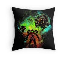Bounty Hunter of Space Throw Pillow