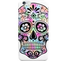 Tie-Dye Sugar Skull iPhone Case/Skin