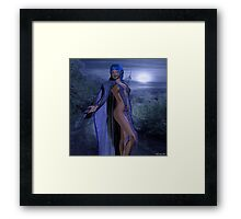 The Night Guide Framed Print