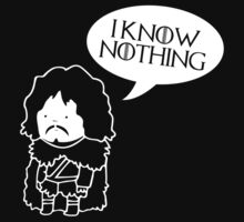 Game Of Thrones Inspired Jon Snow by NafiShirt45