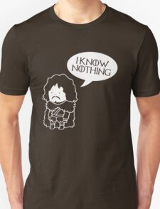 Game Of Thrones Inspired Jon Snow T-Shirt