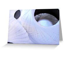 Crochet Spools--A Texture Study Greeting Card
