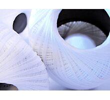 Crochet Spools--A Texture Study Photographic Print