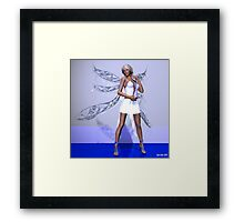 Silly young elf, I'll show her hot! Framed Print