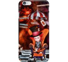 Madness in the Hatter's Realm iPhone Case/Skin