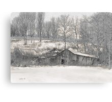 Lost Barn  Canvas Print