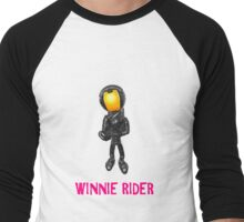 Winnie Rider Merch Men's Baseball ¾ T-Shirt