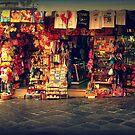 Corfu Streets by Hazel Dean