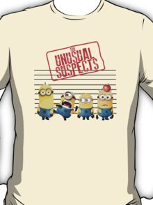 Minion The Unusual Suspects Stuart Dave T-Shirt