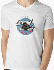 I love you, stinky poo. (Aishiteru stinky poo)  Mens V-Neck T-Shirt