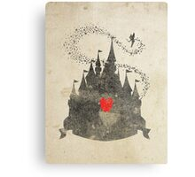 Retro Disney Metal Print