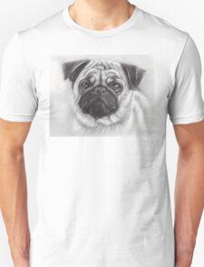 Pug Drawing Unisex T-Shirt