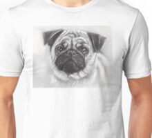 Pug Drawing Unisex T-Shirt