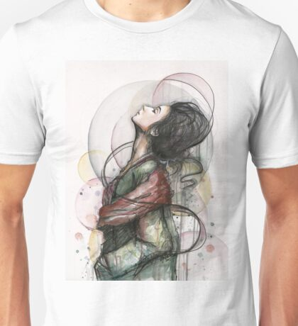 Beauty Illustration Fashion Art Unisex T-Shirt