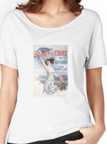Fight or Buy Bonds -- WWI Women's Relaxed Fit T-Shirt
