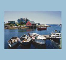 Peggy's Cove, Nova Scotia Kids Tee