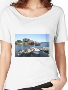 Peggy's Cove, Nova Scotia Women's Relaxed Fit T-Shirt
