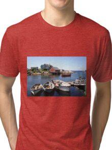 Peggy's Cove, Nova Scotia Tri-blend T-Shirt